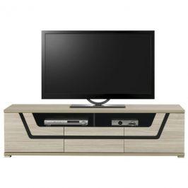 Sconto TV stolek BONN jilm matný/černá