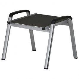 Sconto Zahradní stolička ELEMENTS stříbrná/antracit