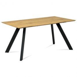 Sconto Jídelní stůl ARON divoký dub/černá