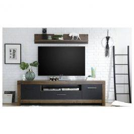 Sconto TV set BALIN dub canyon/černá