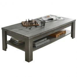 Sconto Konferenční stolek PORTO dub/beton
