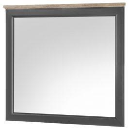 Sconto Zrcadlo TOSKANA šedá/timber wood