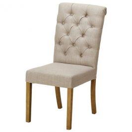 Sconto Jídelní židle HUGO světle šedá