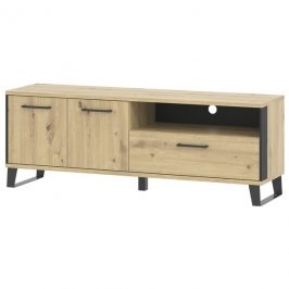Sconto TV stolek SOFT LT1 dub artisan/černá