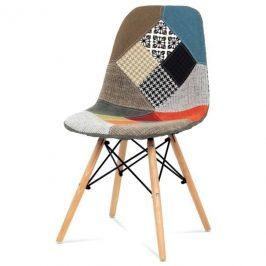 Sconto Jídelní židle ISABELLA barevný patchwork