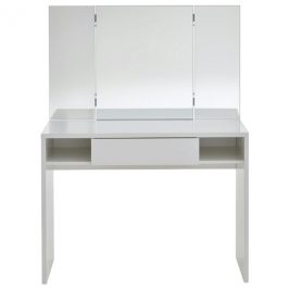 Sconto Toaletní stolek SCHMINKI bílá