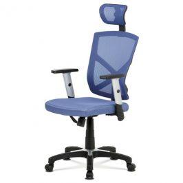 Sconto Kancelářská židle PETER modrá