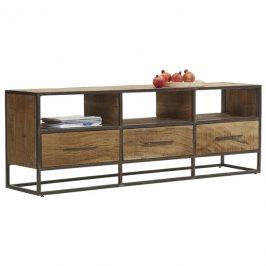 Sconto TV stolek SPRING akácie/kov