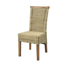 Sconto Jídelní židle PERTH přírodní/ratan