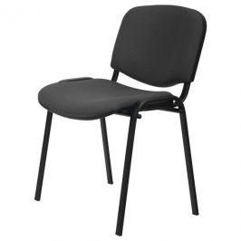 Sconto Konferenční židle ISO černá/šedá
