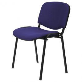 Sconto Konferenční židle ISO černá/modrá