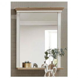 Sconto Zrcadlo JASMIN pinie světlá/dub artisan, šířka 65 cm