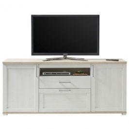 Sconto TV stolek ROMANCE modřín/dub sanremo