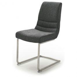 Sconto Jídelní židle SADIE 2 antracitová