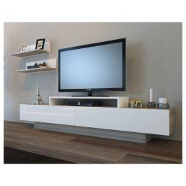 Sconto TV sestava LUSI bílá/cordoba