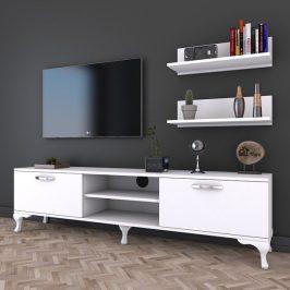 Sconto TV sestava LILIANA bílá Obývací stěny
