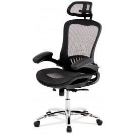 Sconto Kancelářská židle CLIFF černá