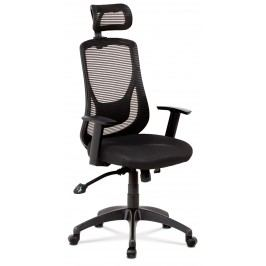 Sconto Kancelářská židle GEORGE černá