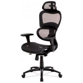 Sconto Kancelářská židle GERRY černá Kancelářská křesla