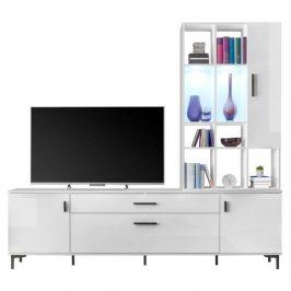 Sconto TV sestava FLY bílá Obývací stěny