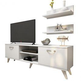 Sconto TV stěna AVA II bílá
