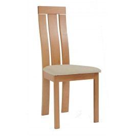 Sconto Jídelní židle MILENA buk/krémová
