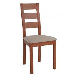 Sconto Jídelní židle DIANA třešeň/světle hnědá