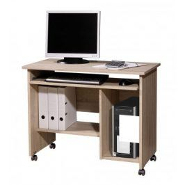 Office - PC stůl (dub sonoma)