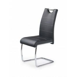 K211 - Jídelní židle (černá, stříbrná)