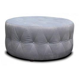 Taburet Luxury kruh (látka) Taburety do obýváku