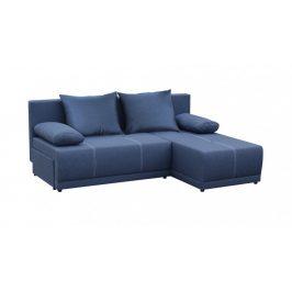 Rohová sedačka rozkládací Picolo univerzální roh ÚP modrá
