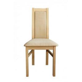 Jídelní židle Agáta sonoma, krémová
