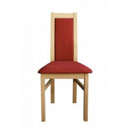 Jídelní židle Agáta, sonoma, bordó