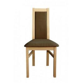 Jídelní židle Agáta sonoma, hnědá