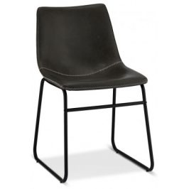 Jídelní židle Guaro šedá, černá