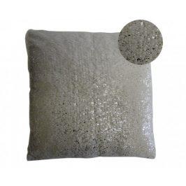 Polštář DP122 (45x45 cm, šedá, stříbrná)