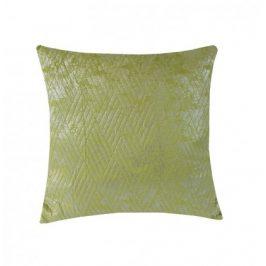 Polštář DP158 (45x45 cm, zelená, stříbrná)