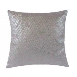Polštář DP154 (45x45 cm, růžová, stříbrná)