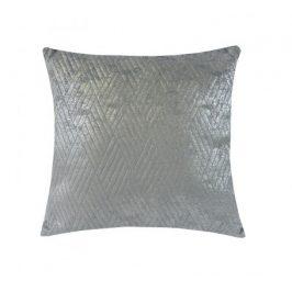 Polštář DP152 (45x45 cm, světle šedá, stříbrná) Polštáře