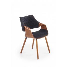 Jídelní židle Manza černá