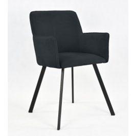Jídelní židle Vian černá Židle do kuchyně