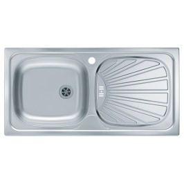 Basic 80 - Dřez (nerez) Kuchyňské dřezy