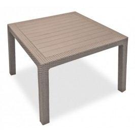 Melody - Stůl, 95 cm (cappuccino)