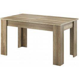 Sky - Jídelní stůl, ABS (country šedá)