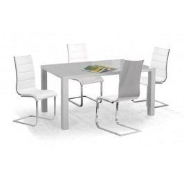 Ronald - Jídelní stůl 120x80 cm (šedý lak)