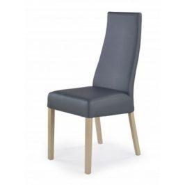 Jídelní židle Kordian (šedá, dub sonoma)