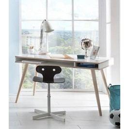 Billund - Psací stůl (alpská bílá, dub)