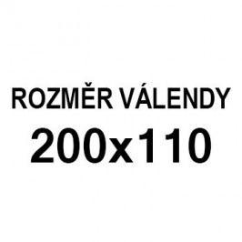 Athos - roh pravý, 200x110 (paris 25, korpus, bok/paris 16, lem)