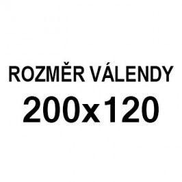 Athos - roh pravý, 200x120 (paris 80, korpus, bok/paris 21, lem)