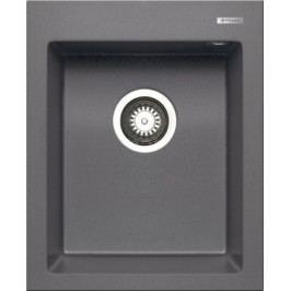 Istros - Granitový dřez 41x50, 1B, šedá